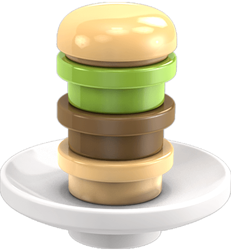 Image of: Hamburger