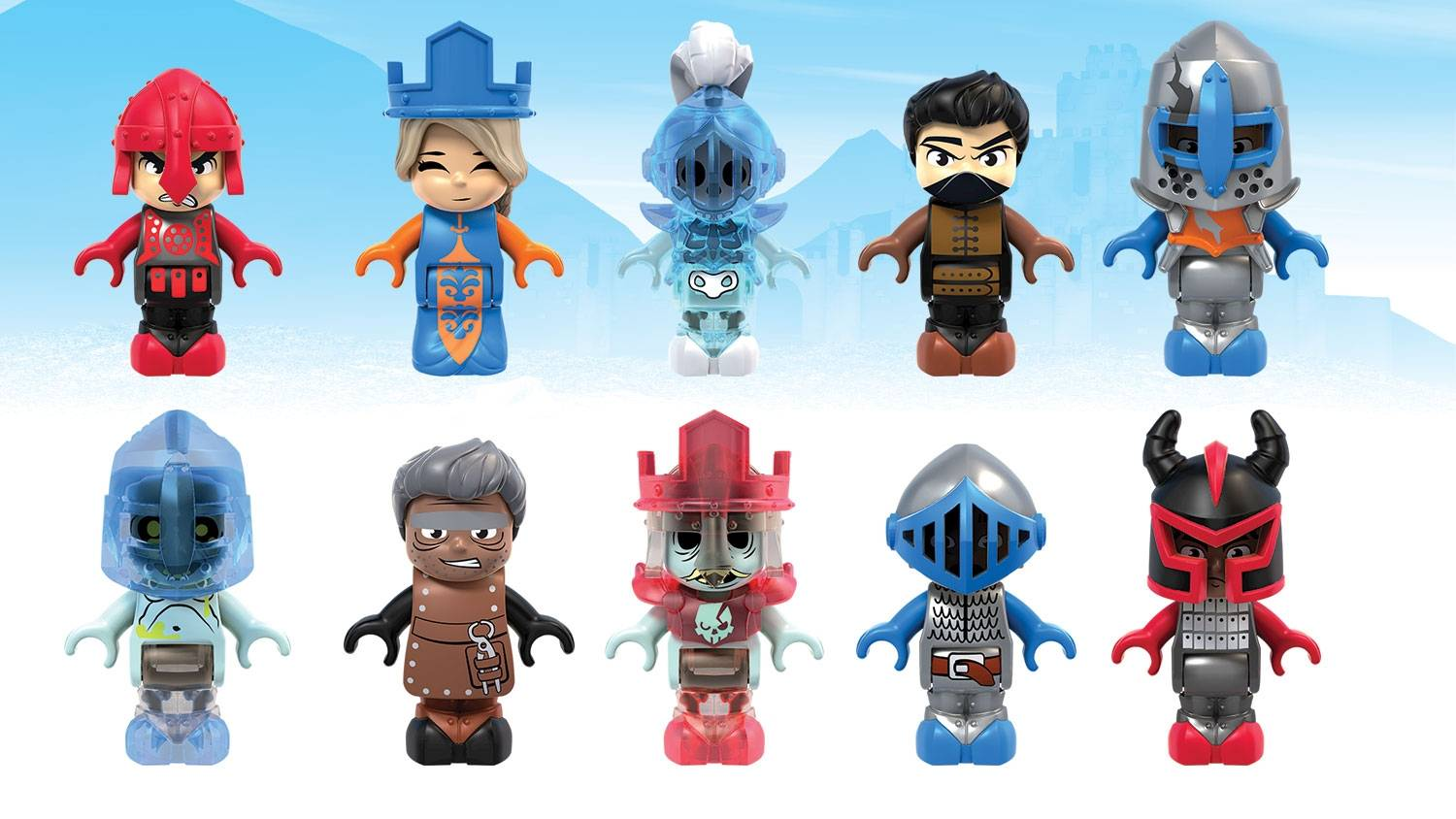 Image of: Surtido de Mini Heroes