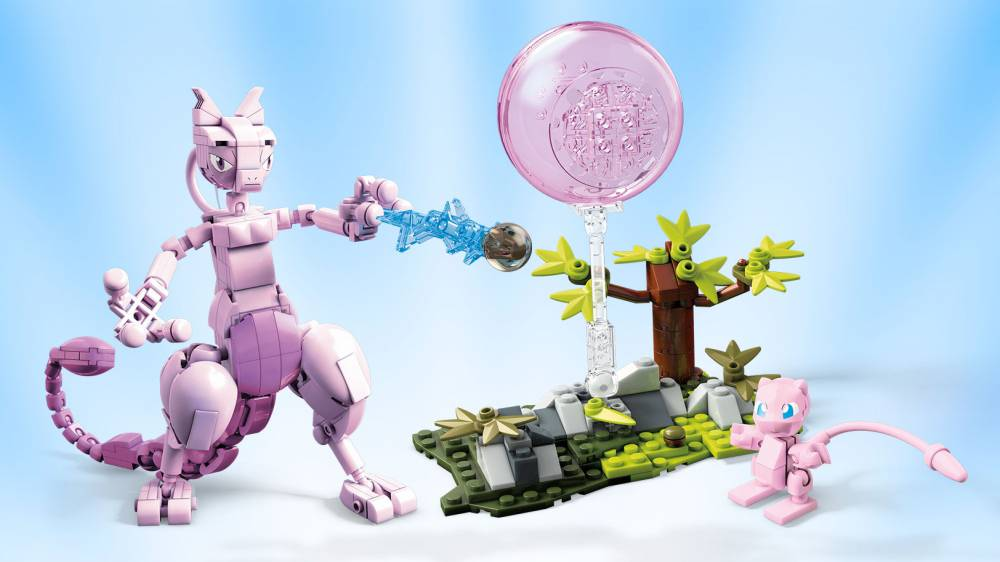 Image of: Mew vs Mewtwo Clash