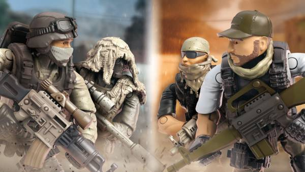 Image of: Desert Snipers vs. Mercenaries