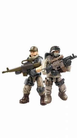 Desert Snipers vs. Mercenaries