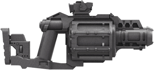 Image of: Grenade Launcher