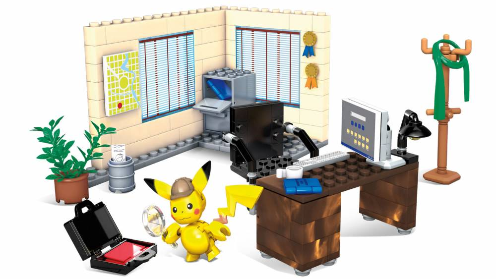 Detective Pikachu Office