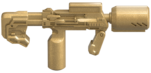 Image of: Supressed SMG