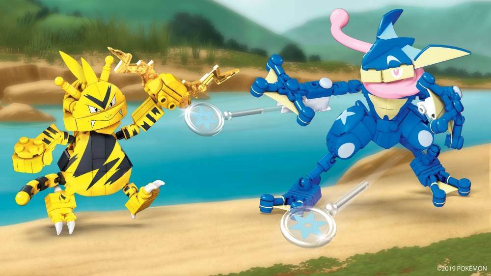Greninja vs. Electabuzz Rumble