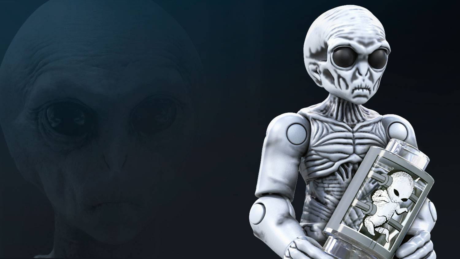 Image of: Grey Alien