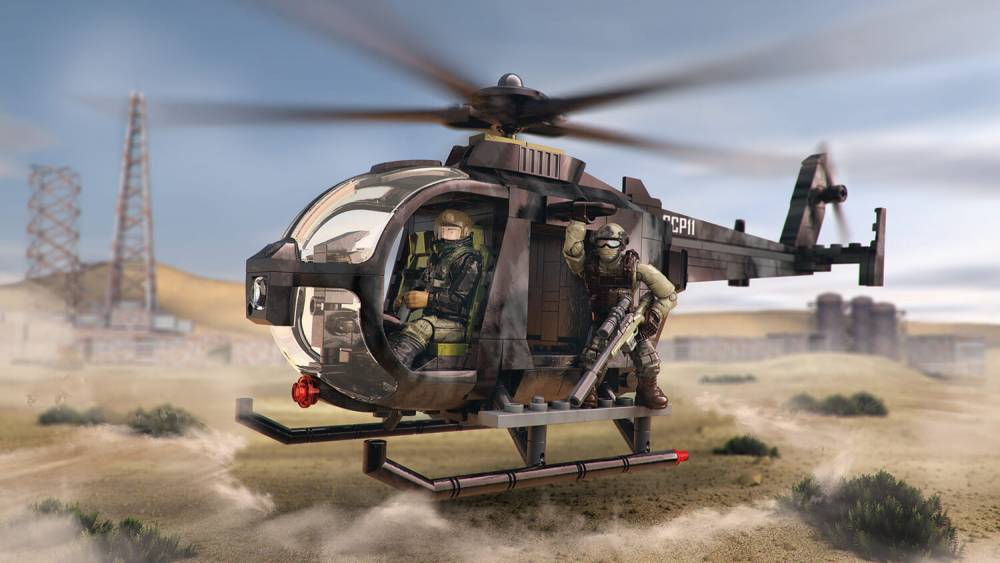 Image of: Special Ops Copter