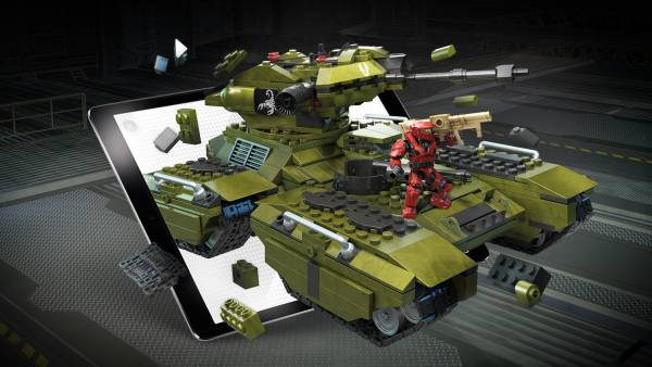 Image of: Designer Series: UNSC Scorpion Tank