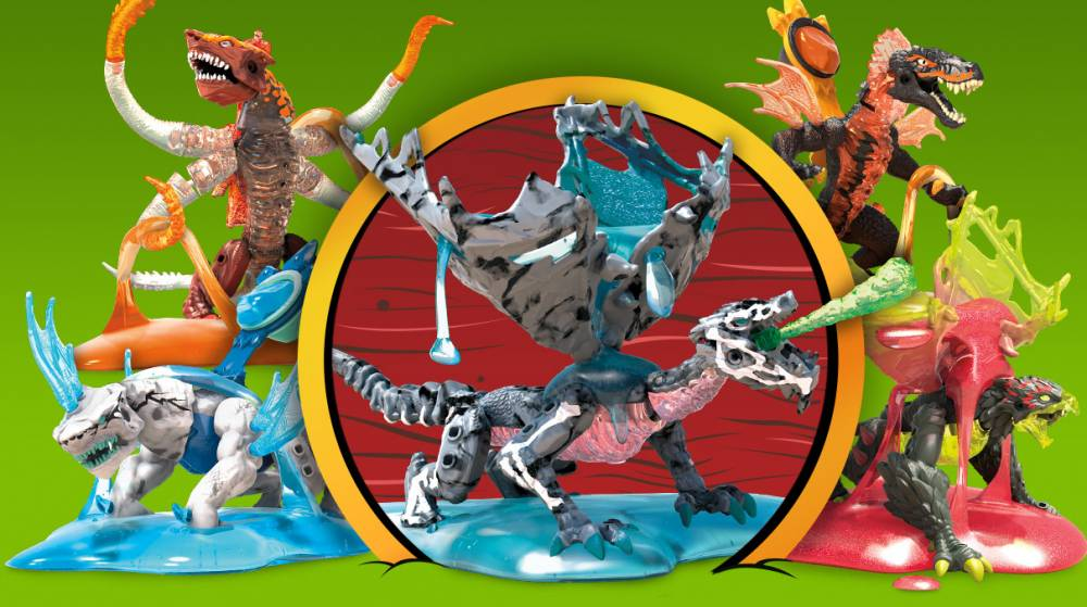 Image of: Assortimento Breakout Beasts – Serie 5