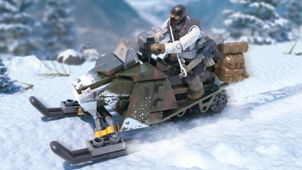 Image of: Snowmobile Scout