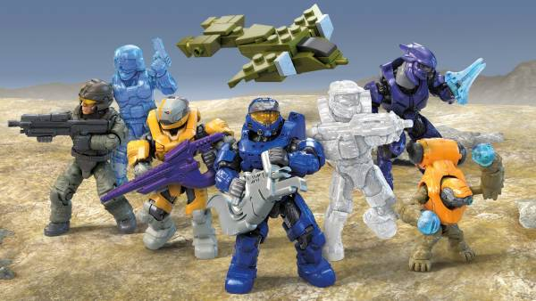 Image of: Halo Micro Action Figure Asst. Series 12