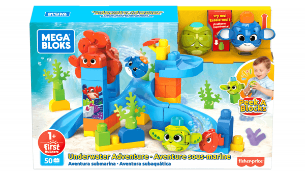 Peek A Blocks™ Underwater Adventure