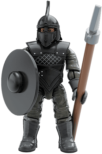 Game Of Thrones Unsullied Soldier Mega Construx