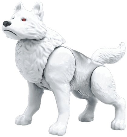 Image of: Ghost the Direwolf