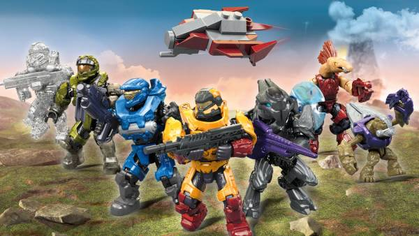 Image of: Halo Micro Action Figures - Series 13