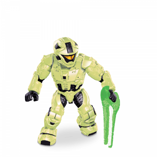 Halo Mega Bloks Glow-In-The-Dark UNSC SPARTAN CQB in Zombie Mode