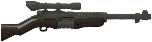 Image of: WWII SNIPER RIFLE