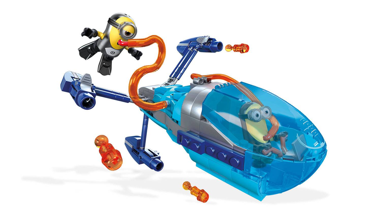 Minions Submarine Dive