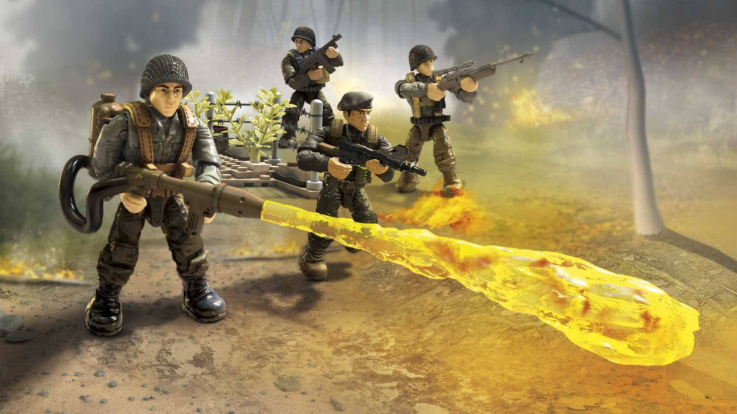 Image of: Flamethrower Shock Troops