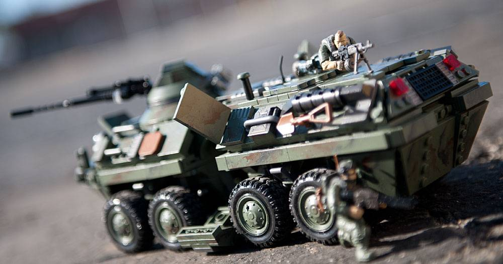 Call Of Duty Combat Vehicle Attack Mega Construx