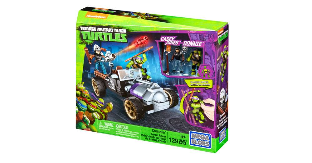 Teenage Mutant Ninja Turtles Donnie Turtle Racer Mega