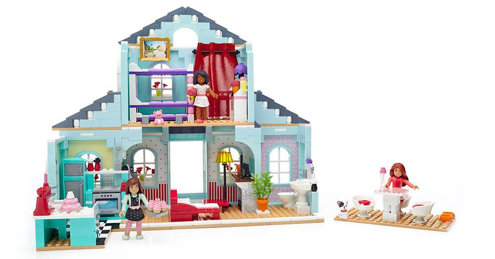 American Girl Graces 2 In 1 Buildable Home Mega Bloks