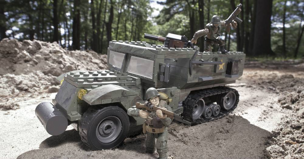 Image of: Half Track Ambush