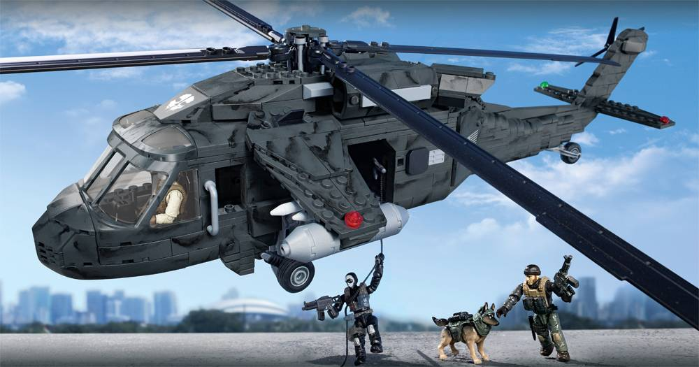 Image of: Ghosts Tactical Helicopter