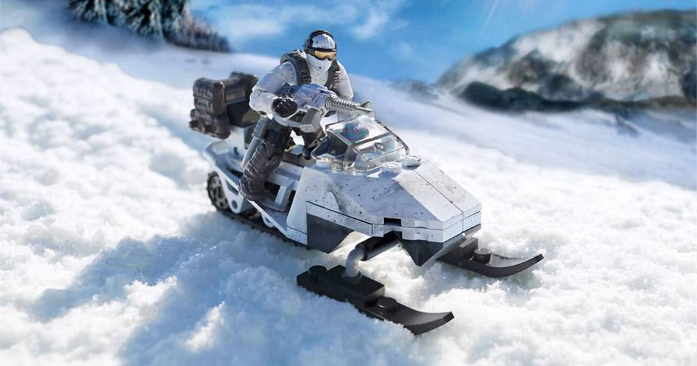Image of: Snowmobile Recon