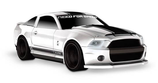 Mega Ford Shelby Gt500 Supersnake Need For Speed Edition