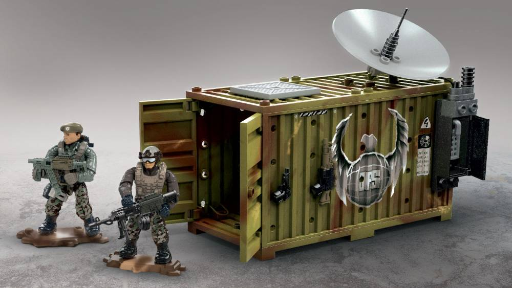 Image of: Jungle SatCom Armory