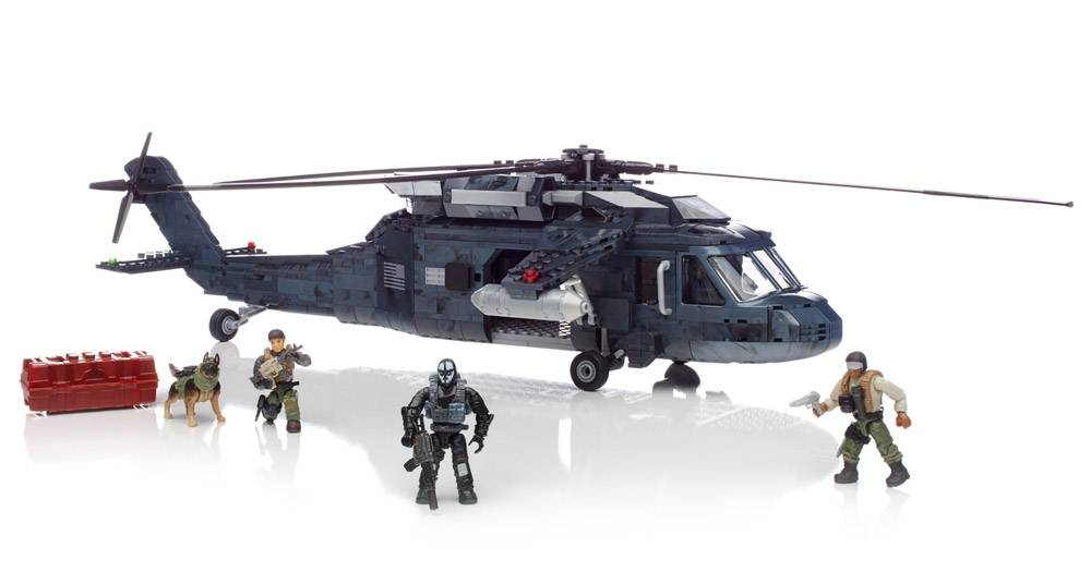 Mega Ghosts Tactical Helicopter