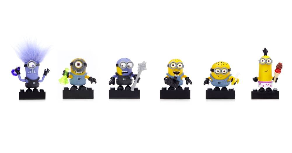 Despicable Me Buildable Minions Blind Packs Series I