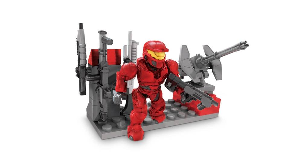 Image of: UNSC Red Weapons Pack