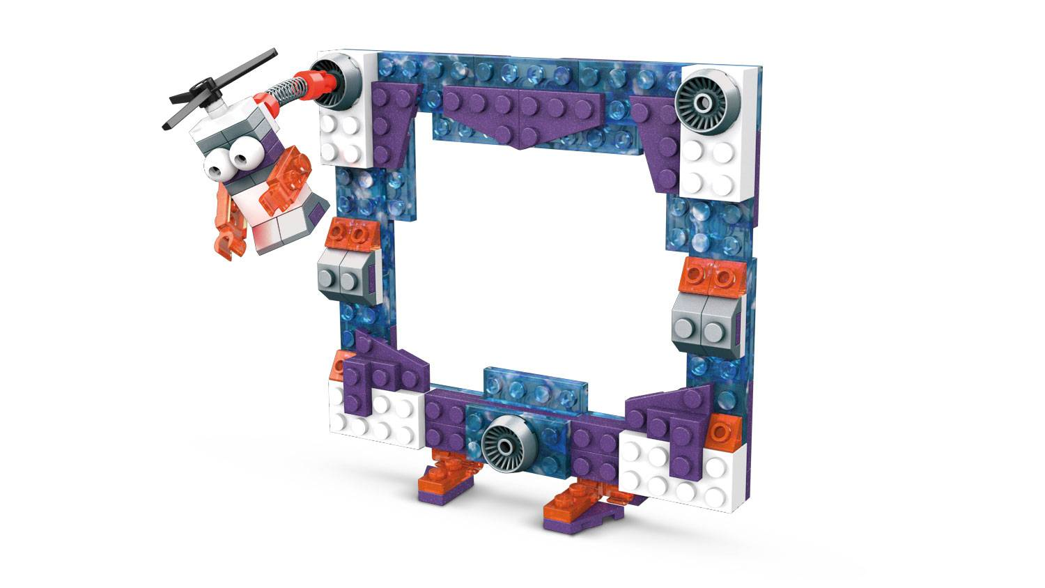 Image of: Space Brick Building Set