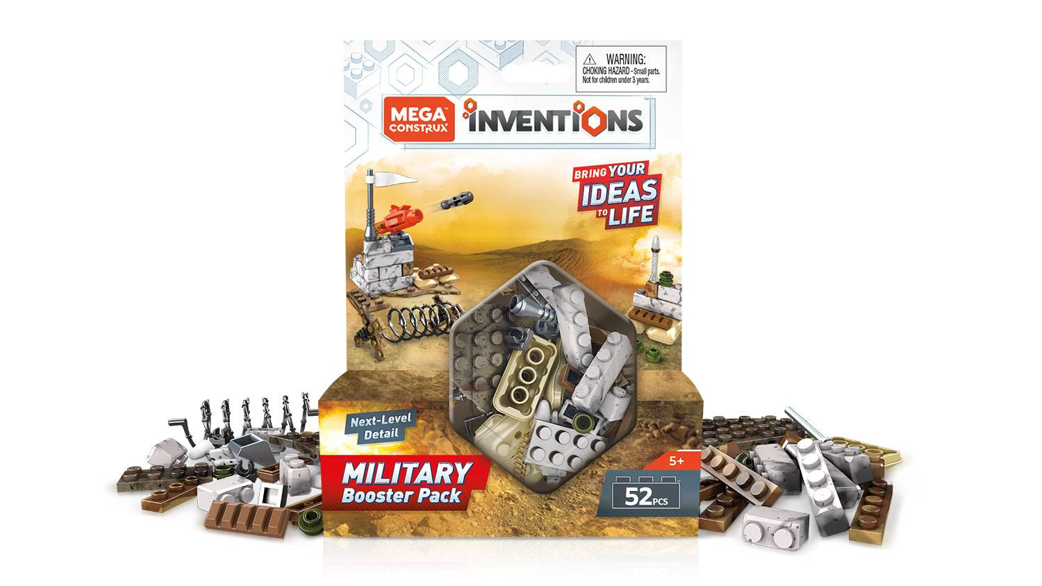 Image of: Military Building Set Booster