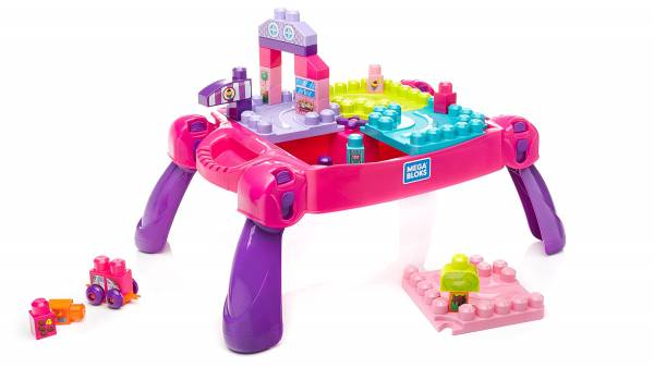 Build 'n Learn Table (Pink)