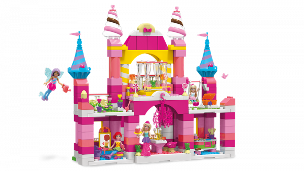 Image of: 2-IN-1 Candy Castle