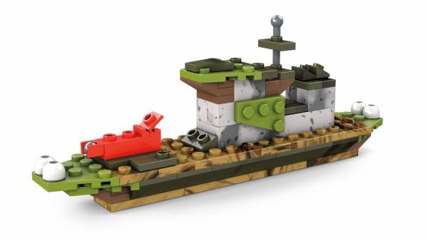 Camo Brick Building Set