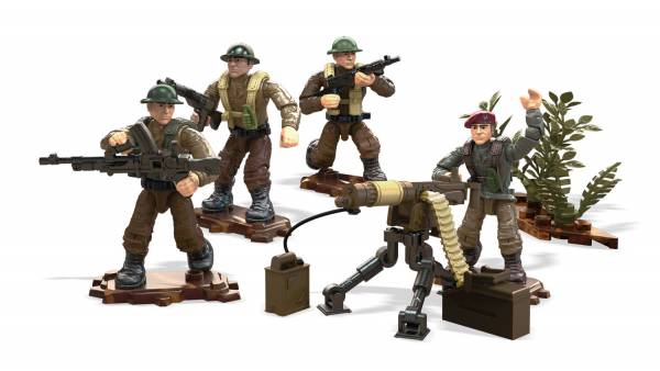 Allied Soldiers Call of Duty 109 Pcs NEW Mega Construx Bloks #FMG15 Legends