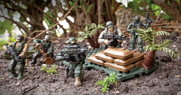 Image of: Jungle Troopers