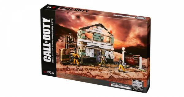 Mega Bloks Collector Series Call of Duty Zombies Nuketown